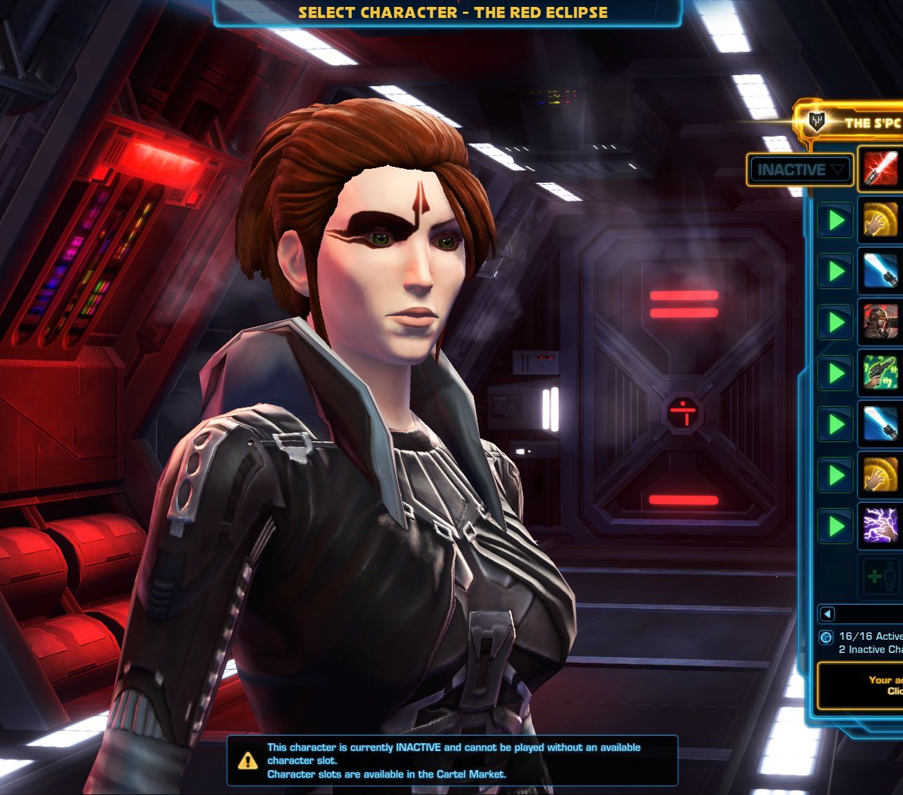 Swtor character slots preferred status
