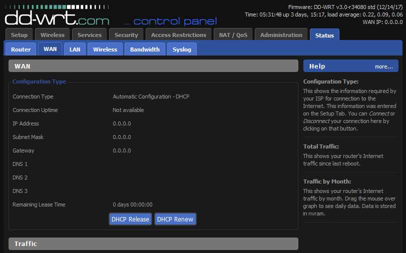 New CMTS, new problems for DHCP Client | SmallNetBuilder Forums
